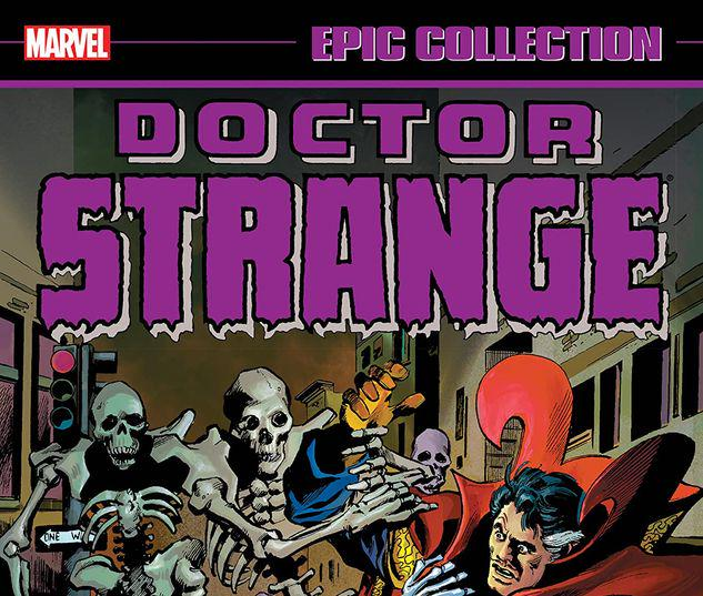 DOCTOR STRANGE EPIC COLLECTION: ALONE AGAINST ETERNITY TPB #1