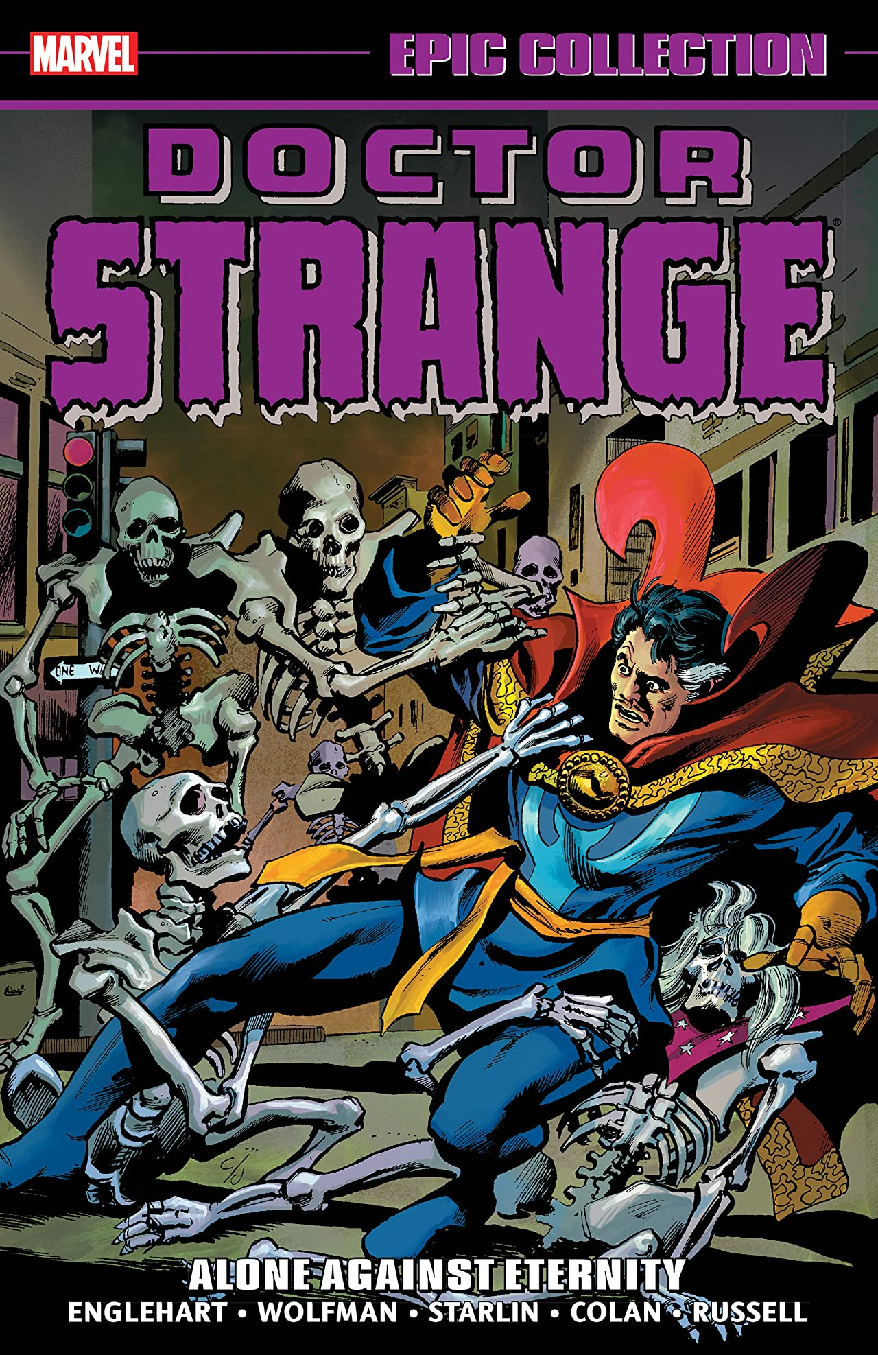 Doctor Strange Epic Collection: Alone Against Eternity (Trade Paperback)