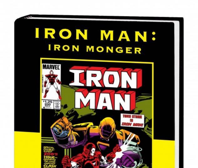 IRON MAN: IRON MONGER PREMIERE HC (VARIANT)