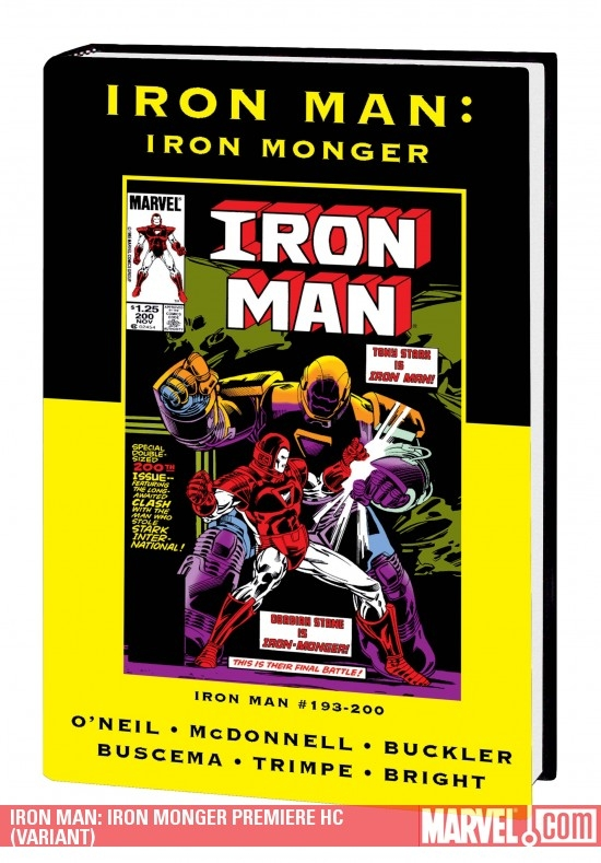 Iron Man: Iron Monger (Hardcover)