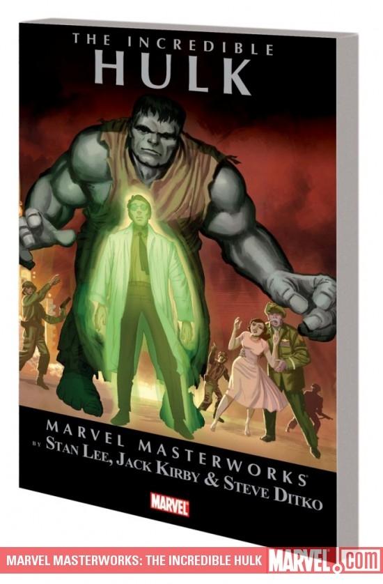 Marvel Masterworks: The Incredible Hulk Vol. 1 (Trade Paperback)