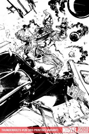 Thunderbolts (2006) #128 (3RD PRINTING VARIANT (DR))