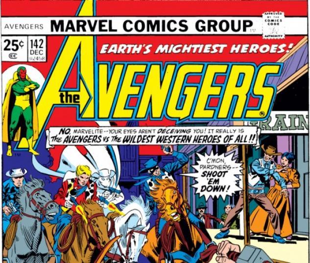 AVENGERS #142 COVER