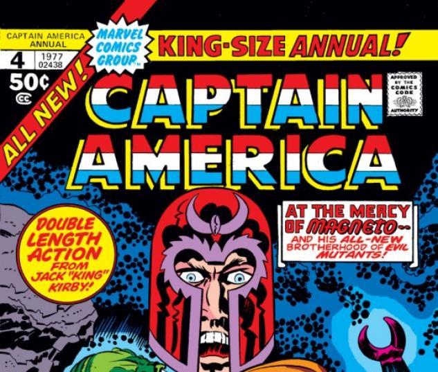 Captain America Annual #4