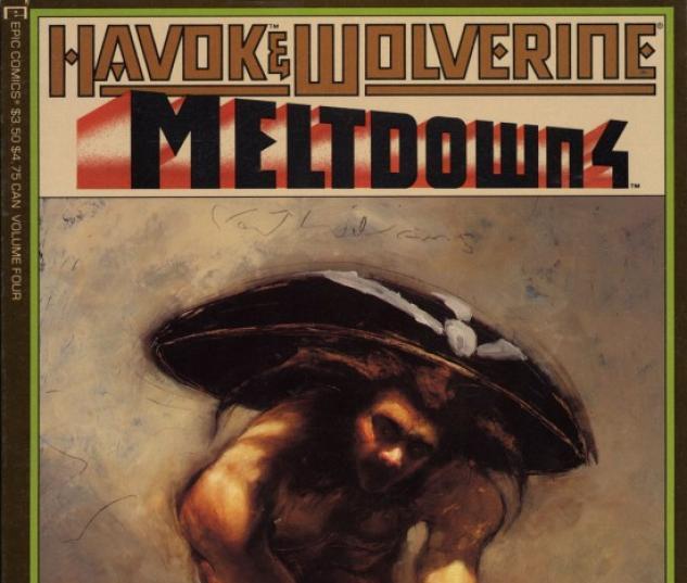 Havok & Wolverine- Meltdown #4