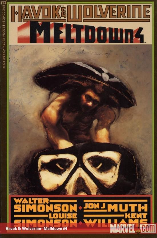Havok & Wolverine: Meltdown (1988) #4