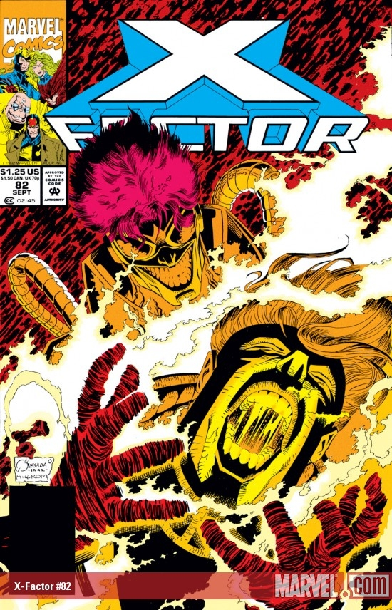 X-Factor (1986) #82