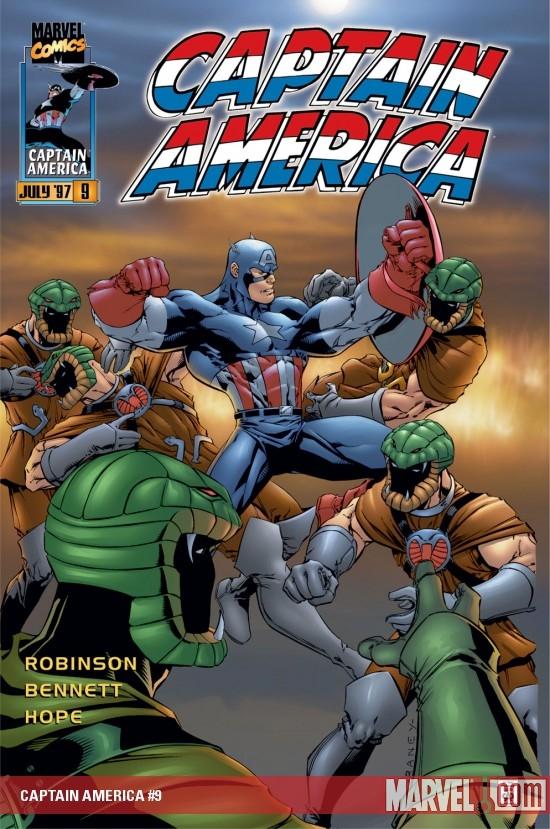 Captain America (1996) #9