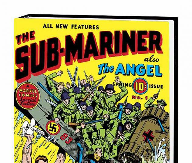 MARVEL MASTERWORKS: GOLDEN AGE SUB-MARINER VOL. 1 COVER