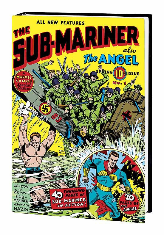 Marvel Masterworks: Golden Age Sub-Mariner Vol. 1 (Hardcover)