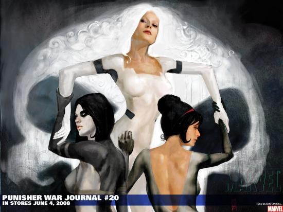 Punisher War Journal (1988) #20 Wallpaper