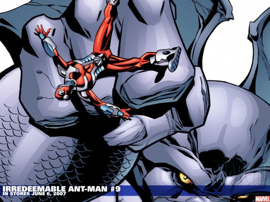 Irredeemable Ant-Man (2006) #9 Wallpaper