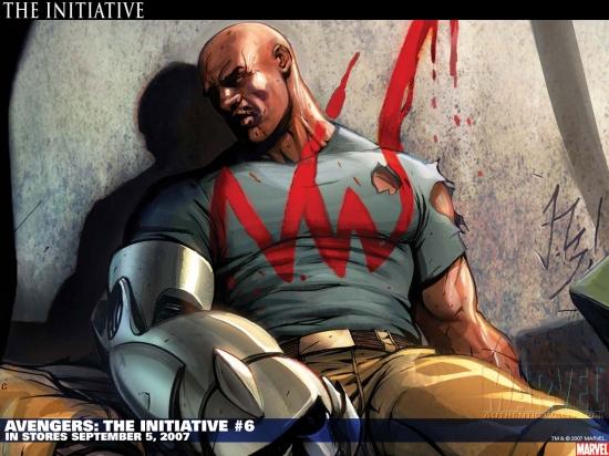 Avengers: The Initiative (2007) #6 Wallpaper