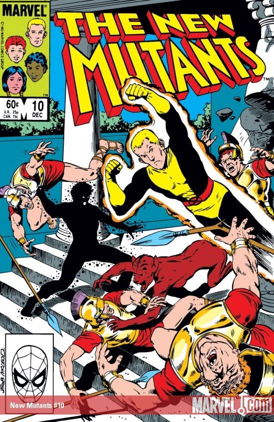 New Mutants (1983) #10