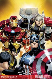 Avengers Posterbook #1