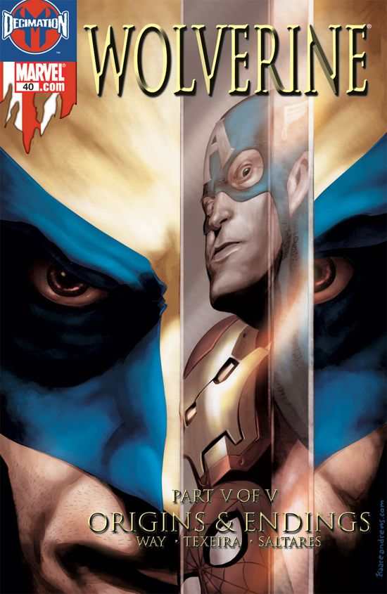 Wolverine (2003) #40