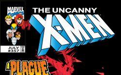 Uncanny X-Men (1963) #357 Cover