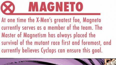 Marvel AR: Quicksilver & Magneto Character Bio