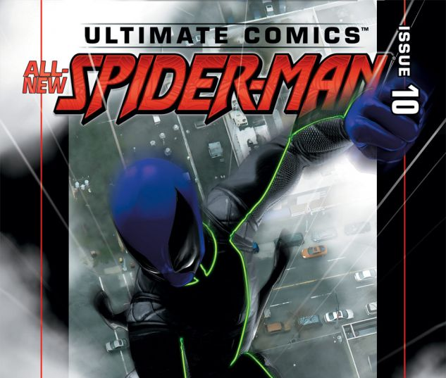 ULTIMATE COMICS SPIDER-MAN (2011) #10 Cover