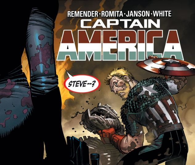 CAPTAIN AMERICA (2012) #8 Cover