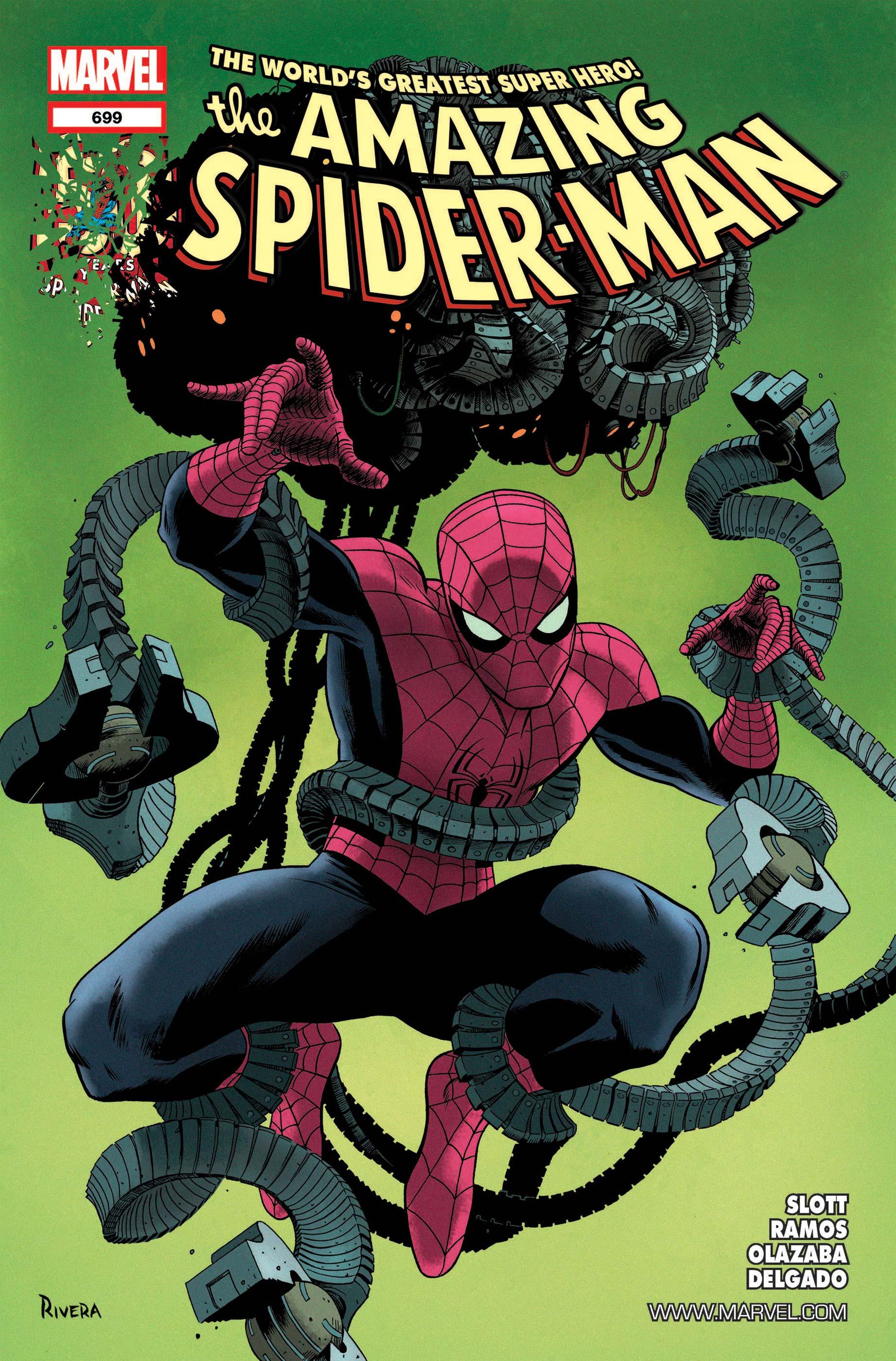 Amazing Spider-Man (1999) #699