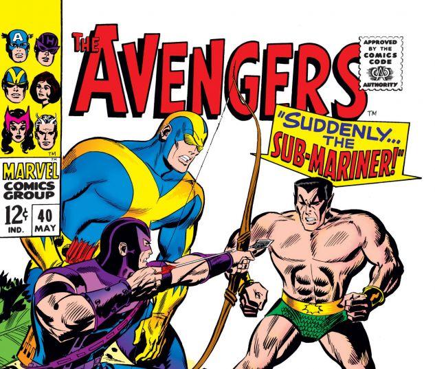 AVENGERS (1963) #40