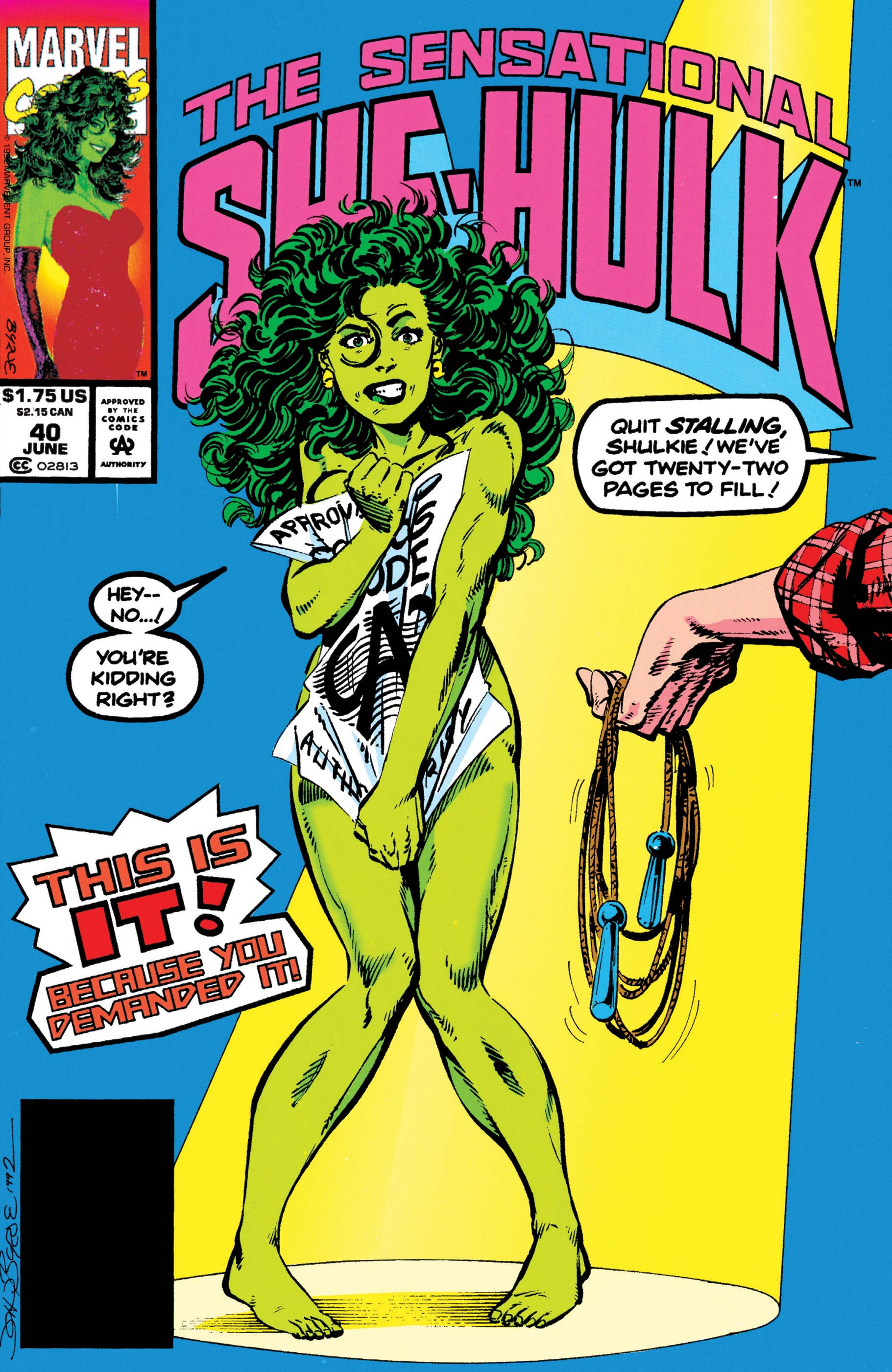 Sensational She-Hulk (1989) #40