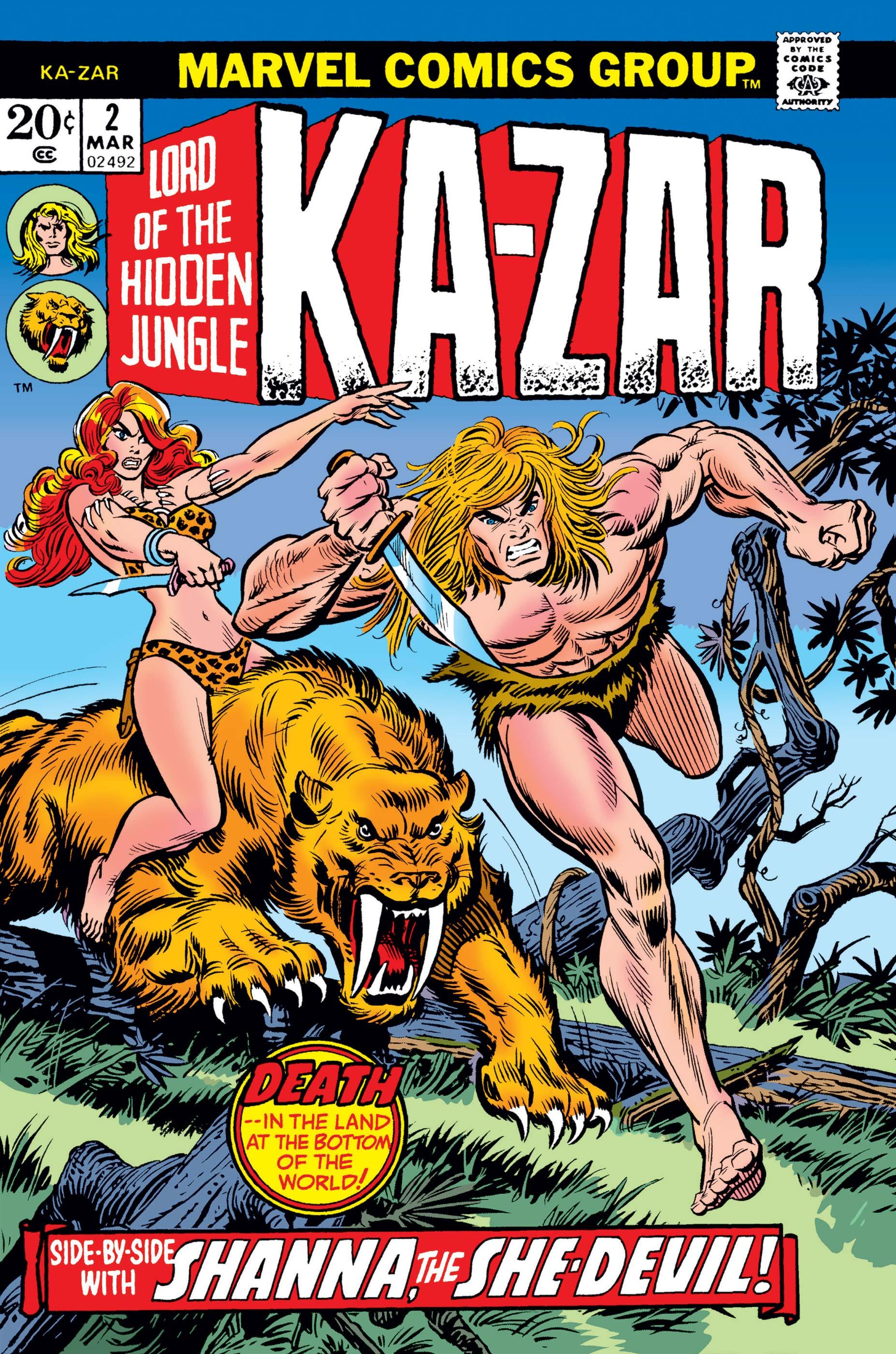 Ka-Zar (1974) #2