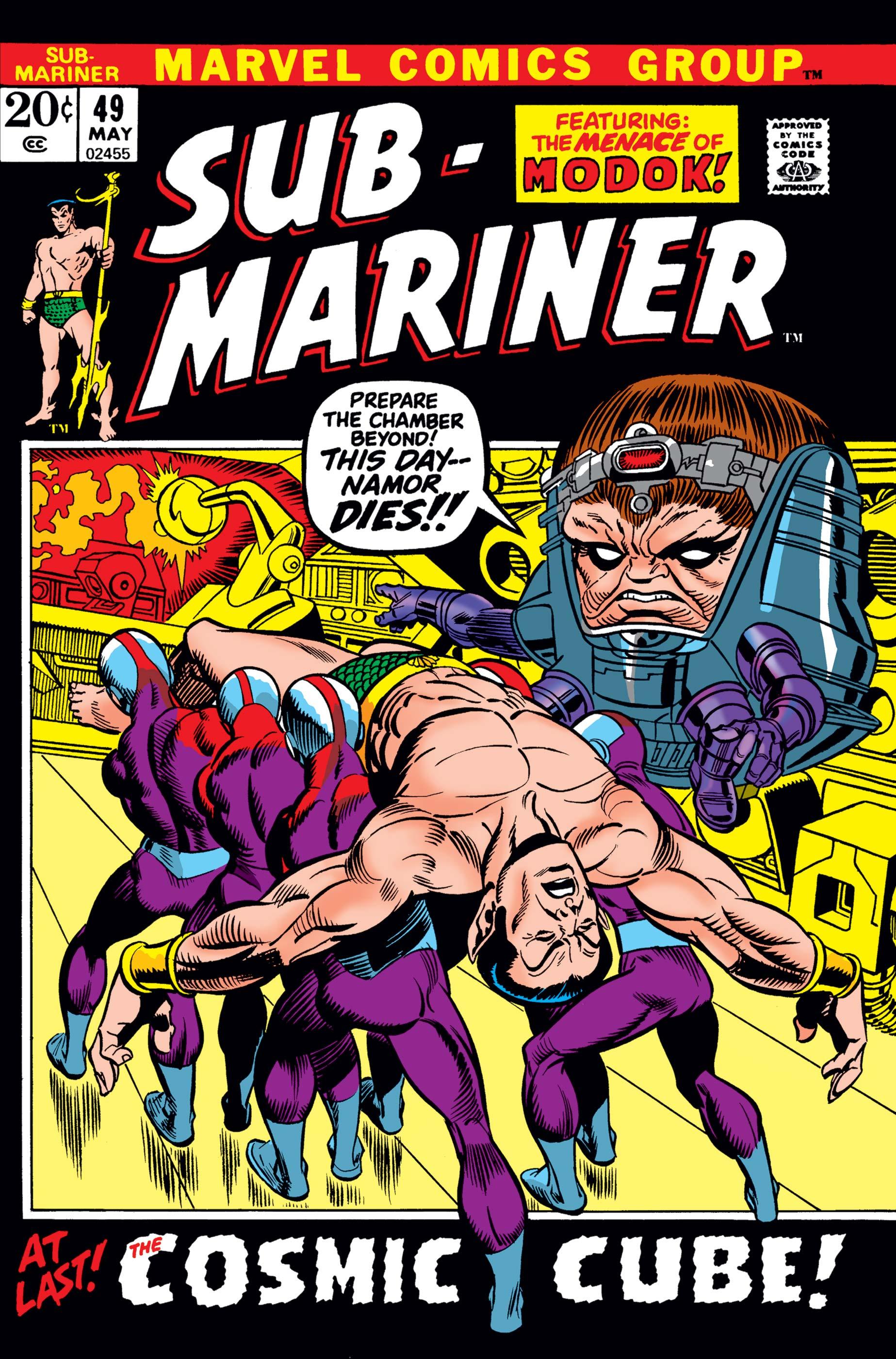 Sub-Mariner (1968) #49