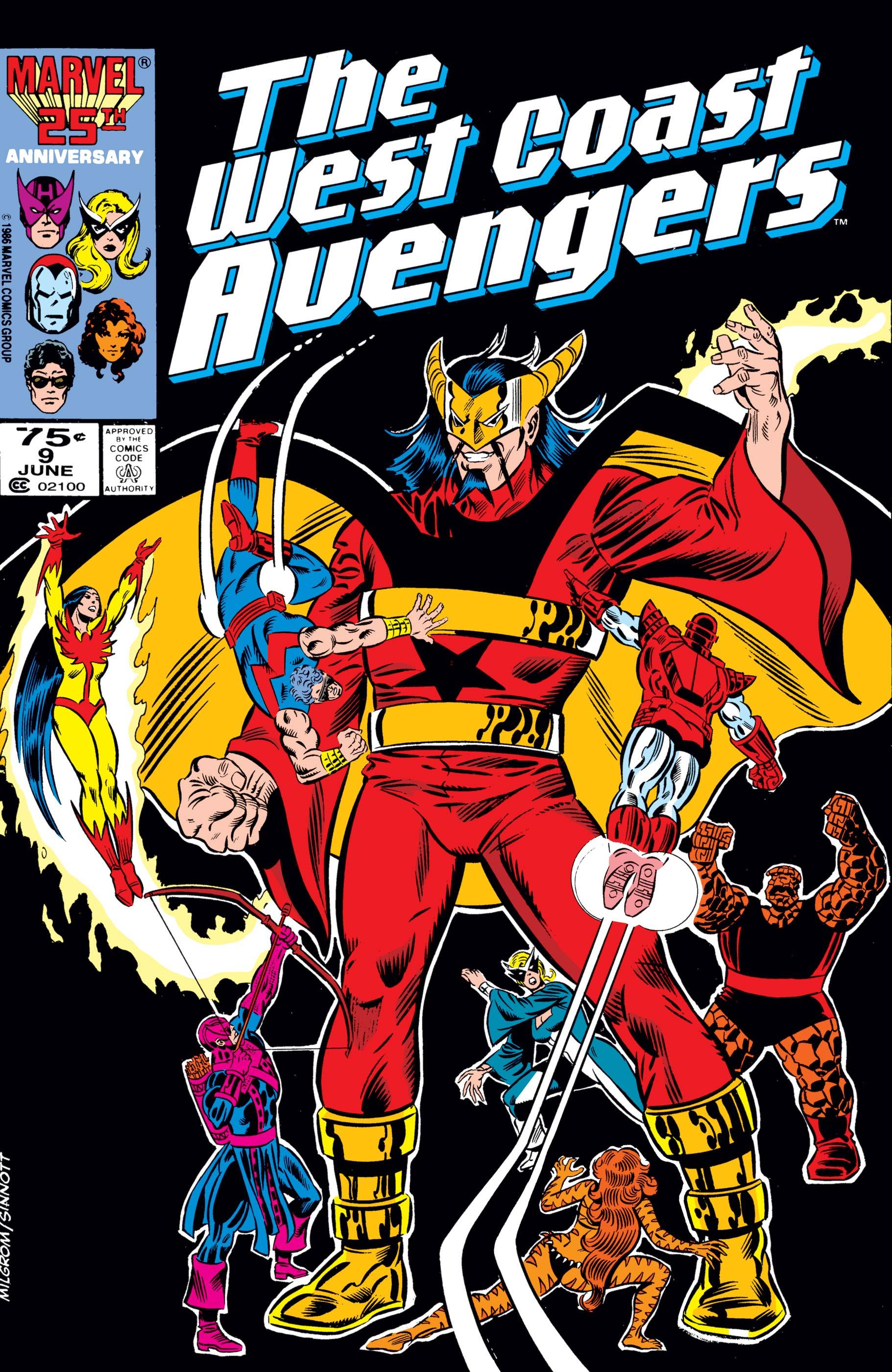 West Coast Avengers (1985) #9