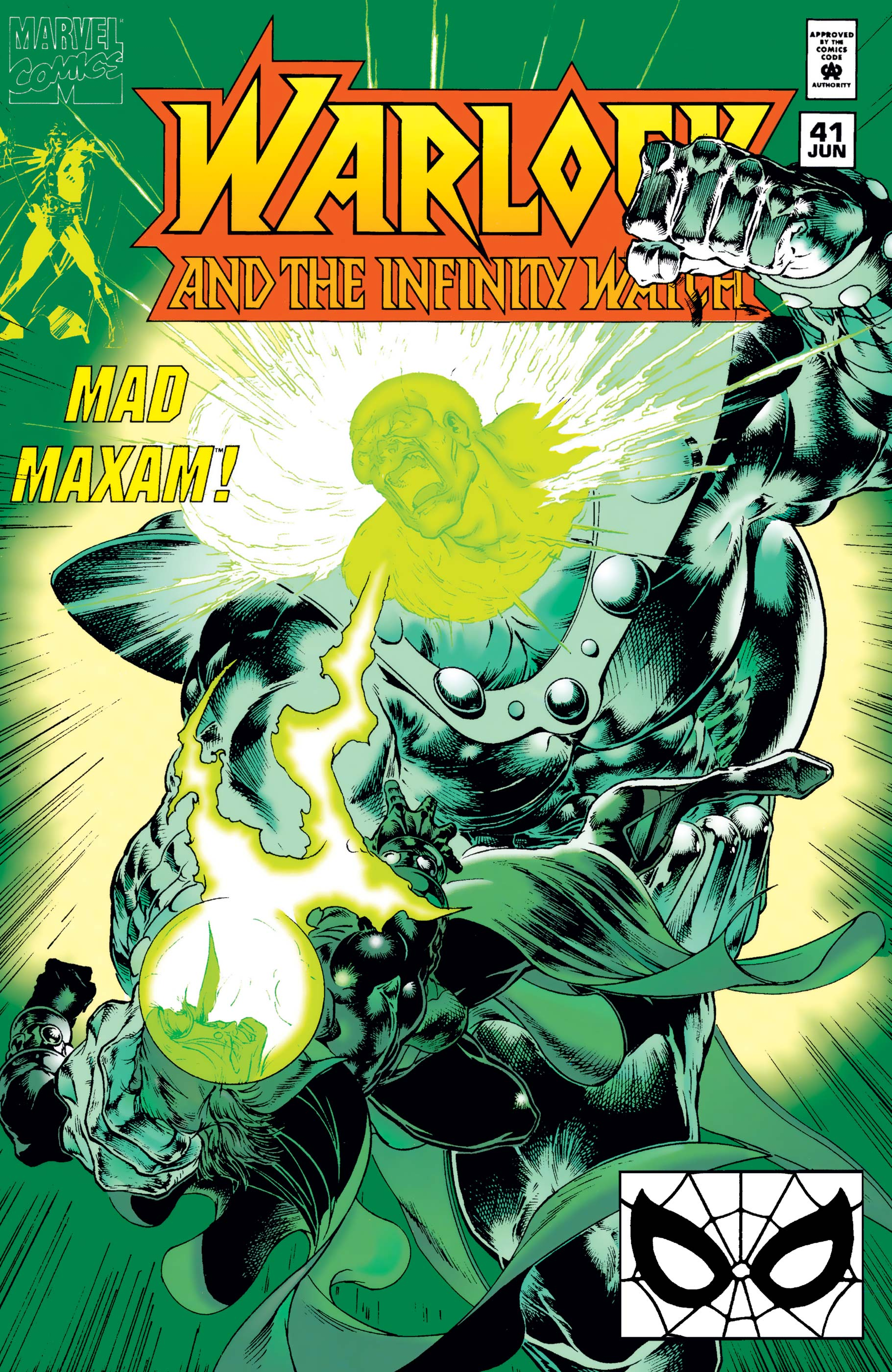 Warlock and the Infinity Watch (1992) #41