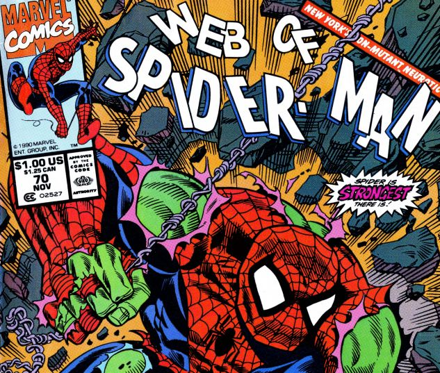 Web of Spider-Man (1985) #70