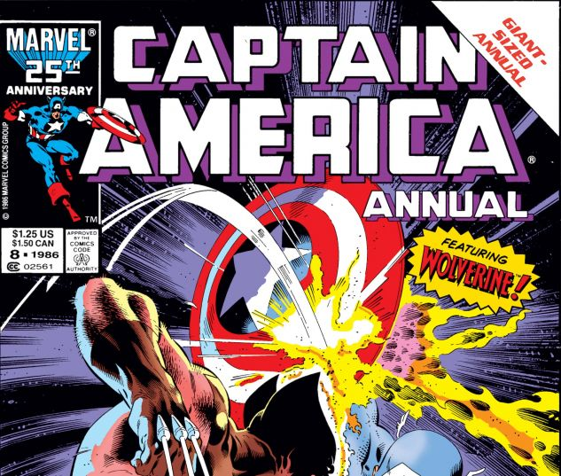 CAPTAIN AMERICA ANNUAL (1971) #8