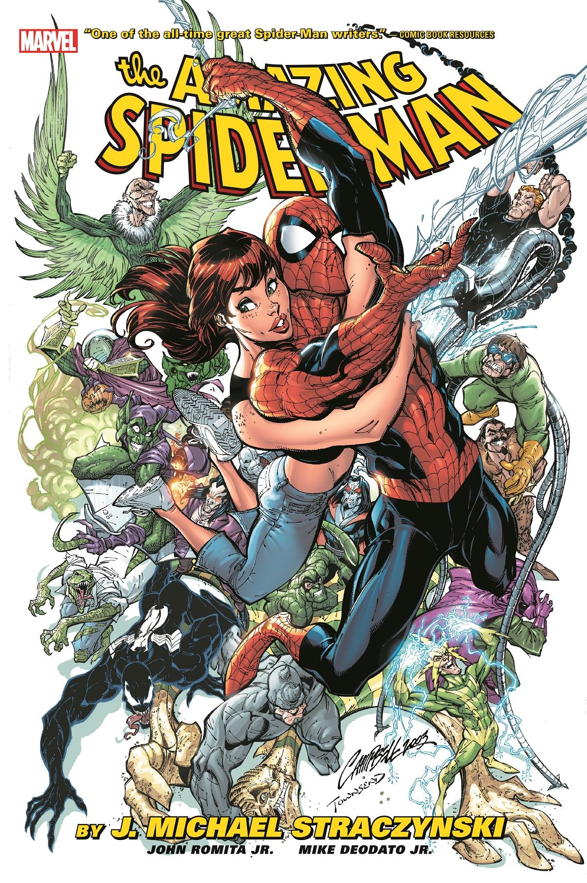 Amazing Spider-Man by J. Michael Straczynski Omnibus Vol. 1 (Hardcover)
