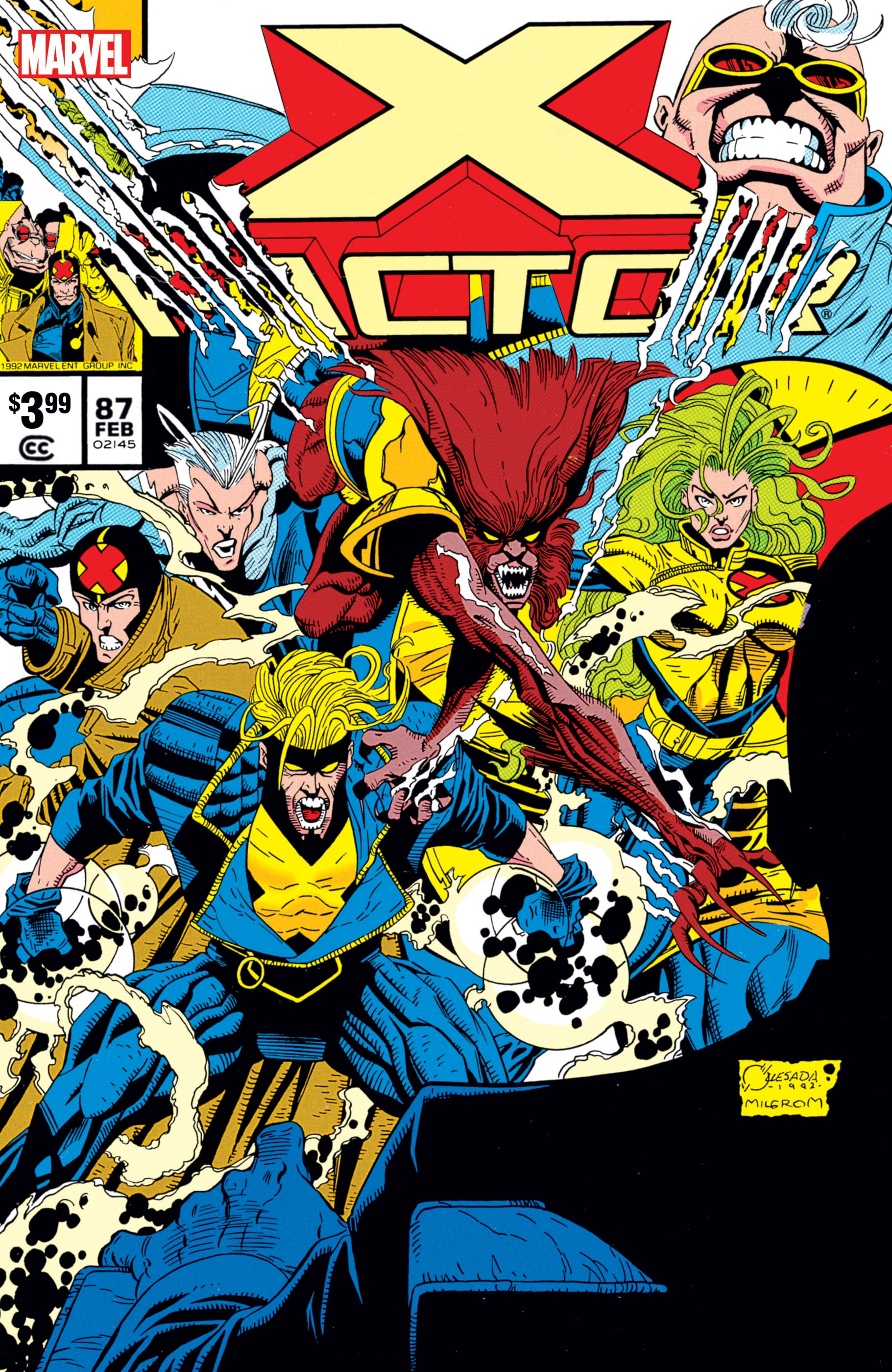 X-Factor 87 Facsimile Edition (2019) #1