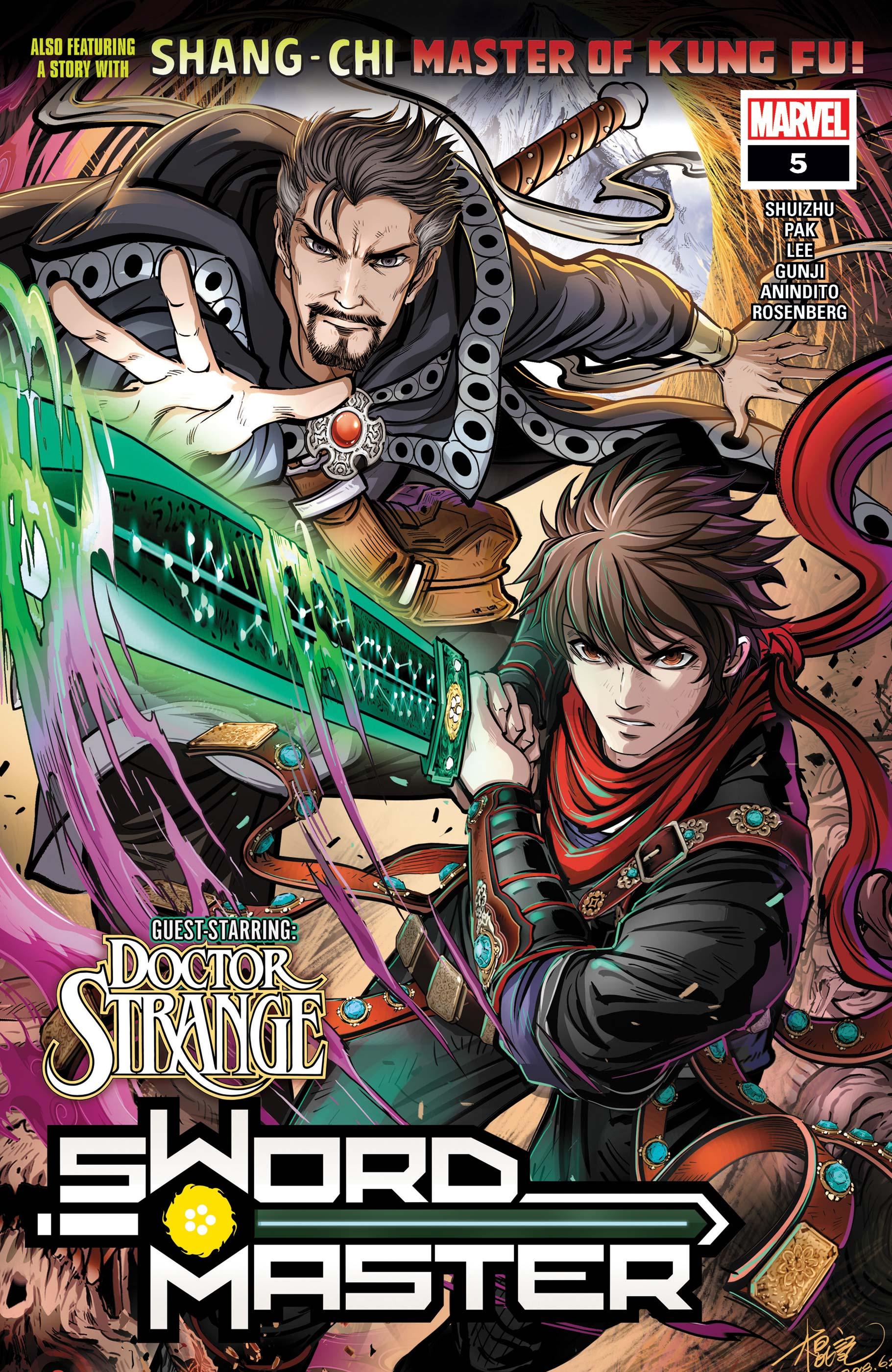 Sword Master (2019) #5