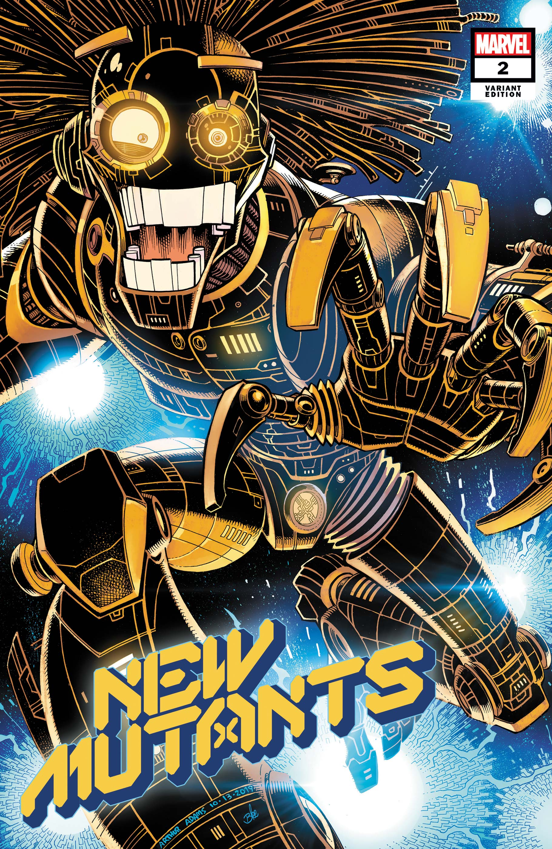 New Mutants (2019) #2 (Variant)