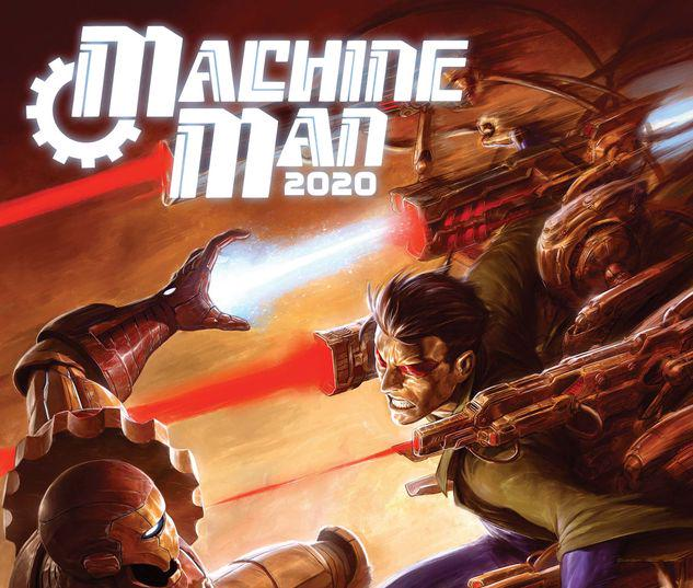 2020 Machine Man #1