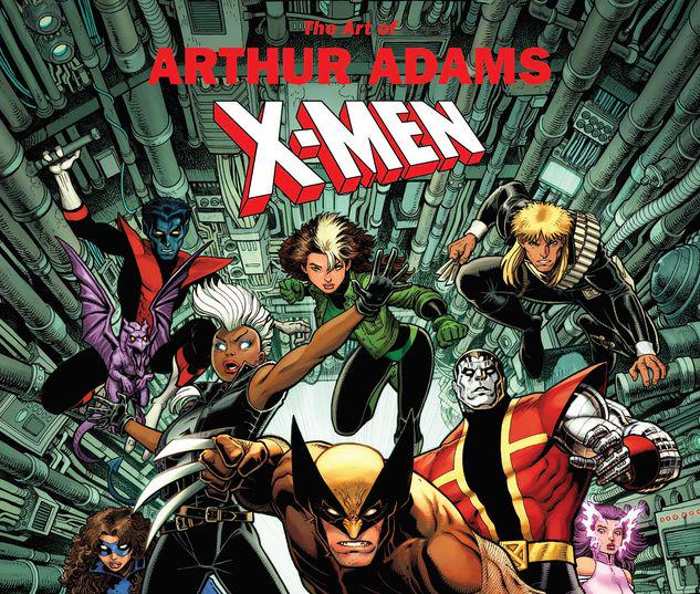 MARVEL MONOGRAPH: THE ART OF ARTHUR ADAMS - X-MEN TPB #1