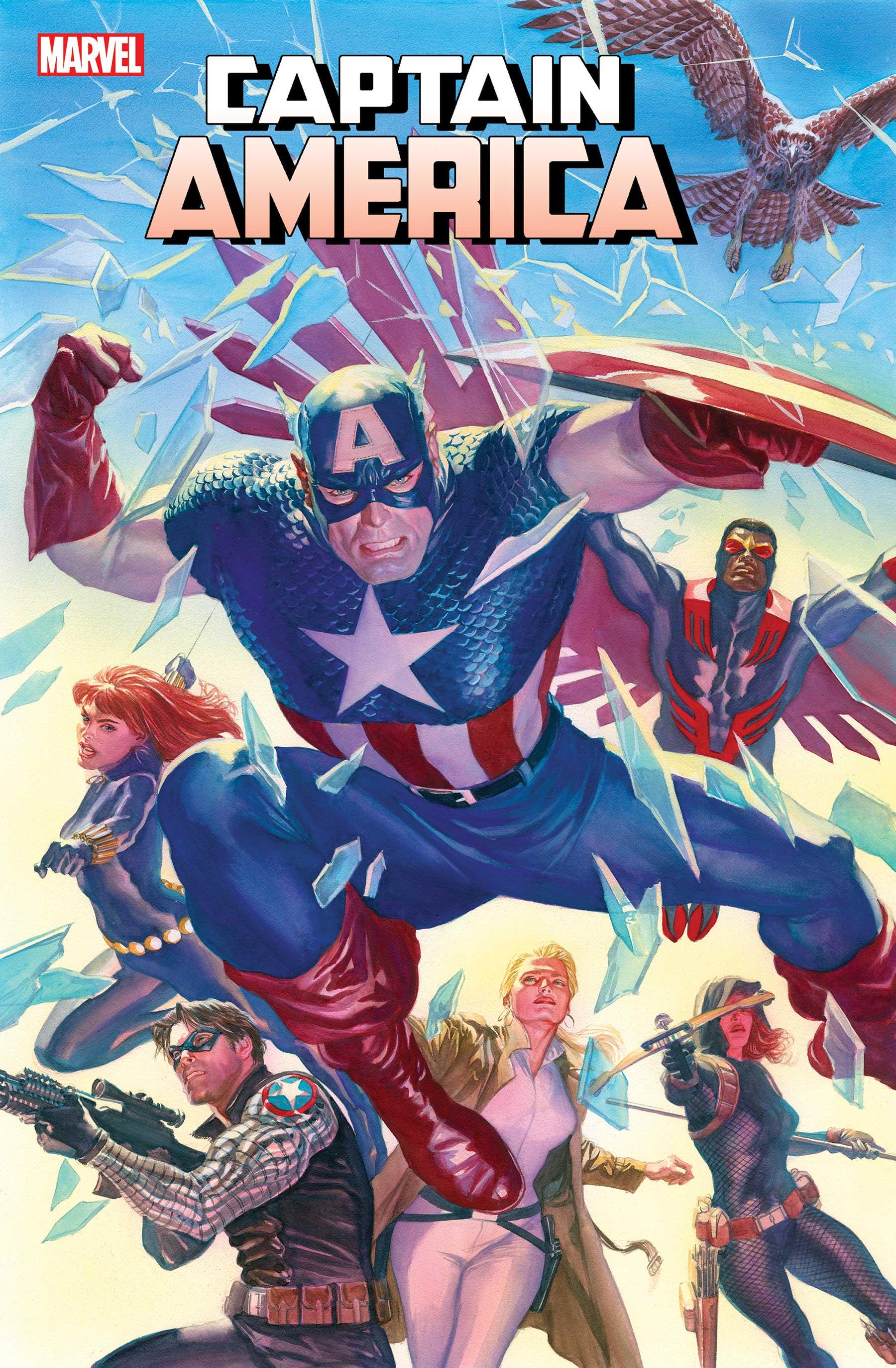 Captain America (2018) #25 (Ross Variant)