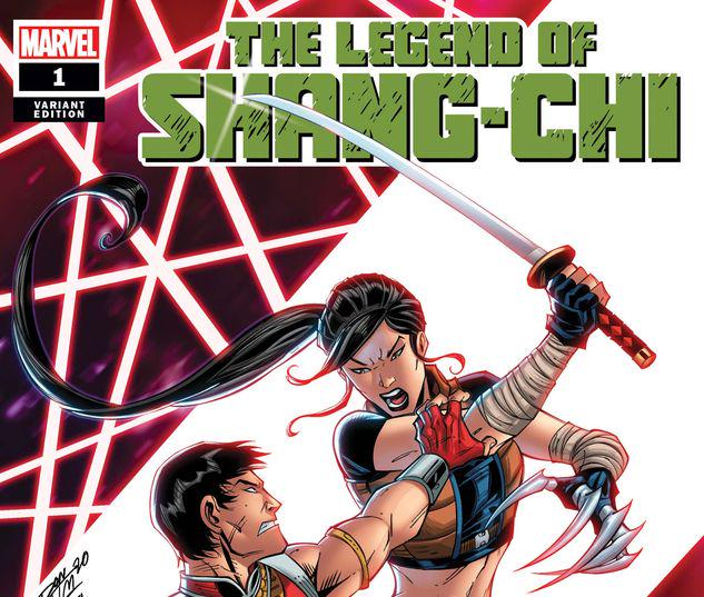 THE LEGEND OF SHANG-CHI 1 LIM VARIANT #1