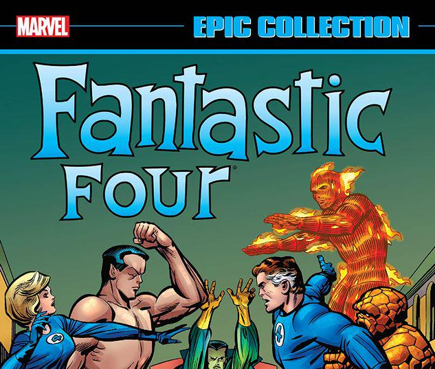 FANTASTIC FOUR EPIC COLLECTION: THE MASTER PLAN OF DOCTOR DOOM TPB #0