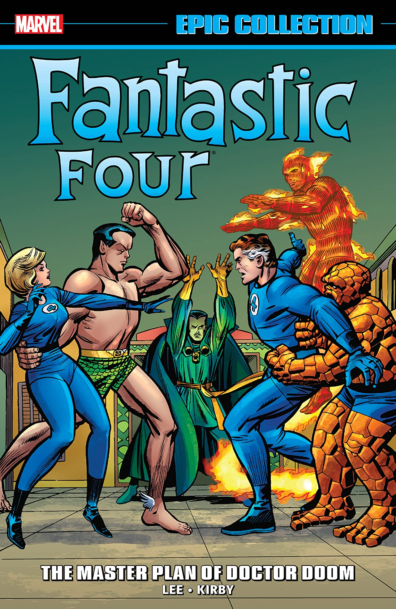 FANTASTIC FOUR EPIC COLLECTION: THE MASTER PLAN OF DOCTOR DOOM TPB (Trade Paperback)
