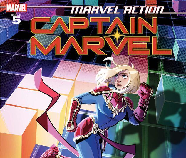 Marvel Action Captain Marvel #5
