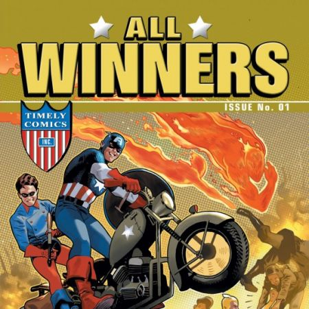 All Winners Comics 70th Anniversary Special #1 cover by Daniel Acuna
