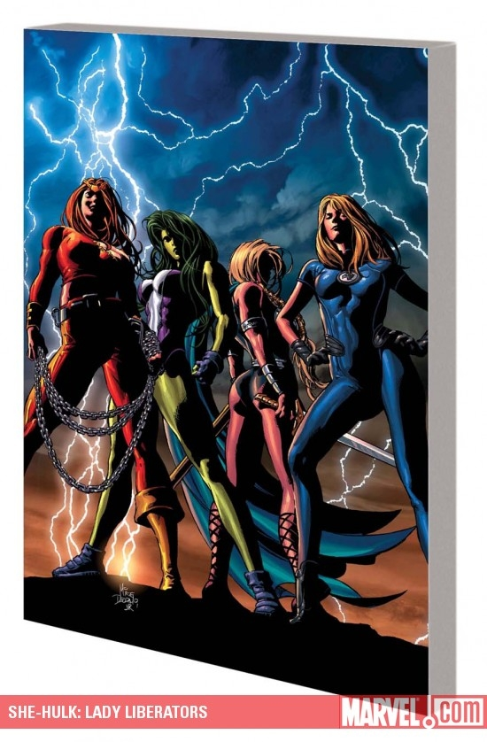 She-Hulk Vol. 9: Lady Liberators (Trade Paperback)