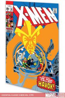 Essential Classic X-Men Vol. 3 (Trade Paperback)