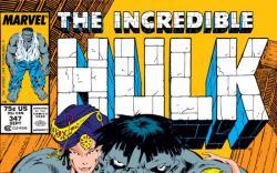 INCREDIBLE HULK #347 COVER