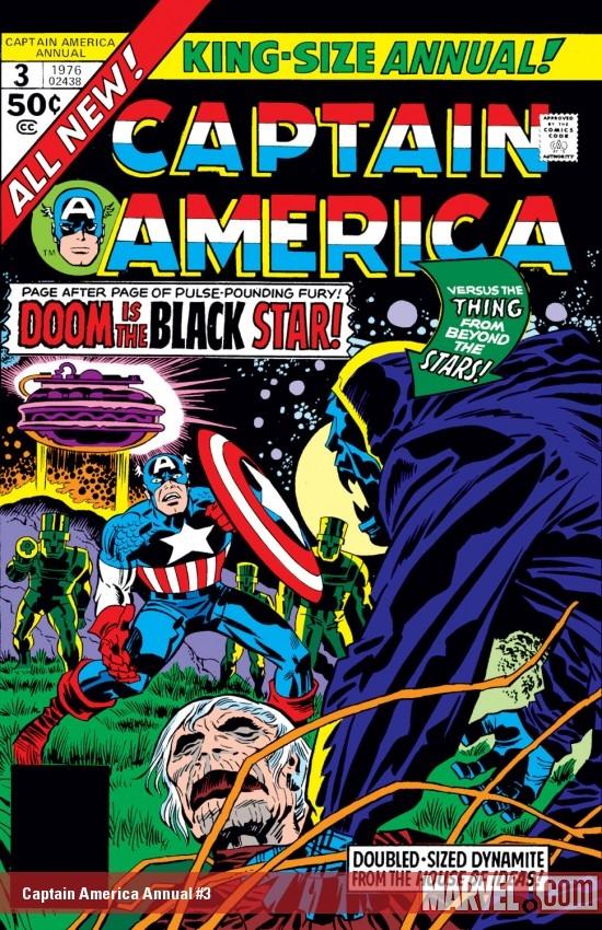 Captain America Annual (1971) #3