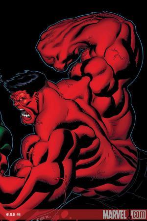 Hulk (2008) #6 (MCGUINNESS (50/50 COVER))